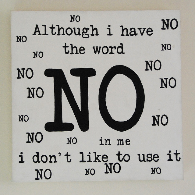 How To Say No: 4 Helpful Questions - janna marlies maron